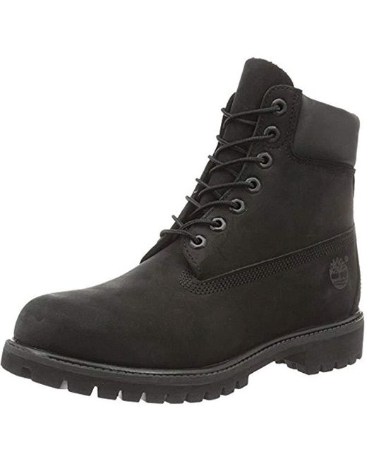 5038556966ed8 Timberland - Black 6 Inch Premium Waterproof Boots for Men - Lyst ...
