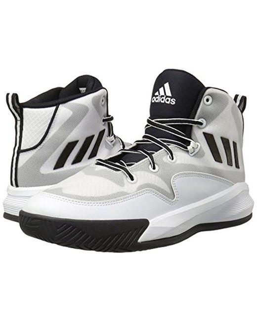 Lyst Adidas Performance Pazzo Eruzione Basket Scarpa In Bianco.