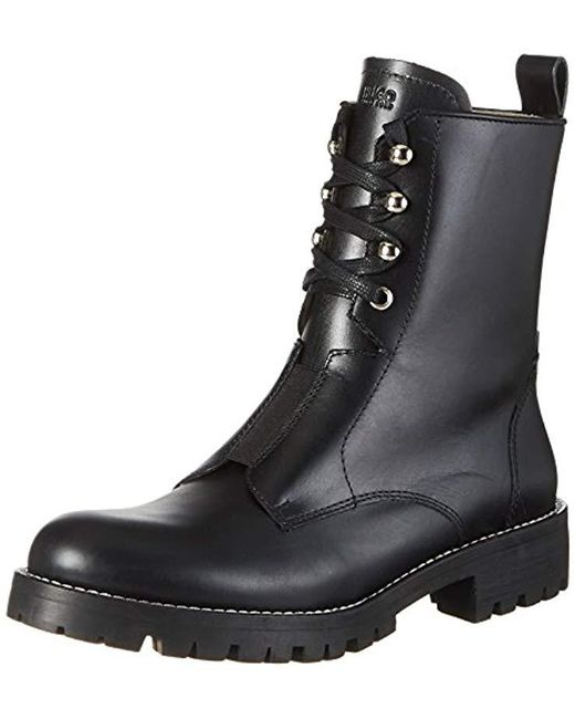 HUGO - Black ''s Mai Ankle Boots - Lyst