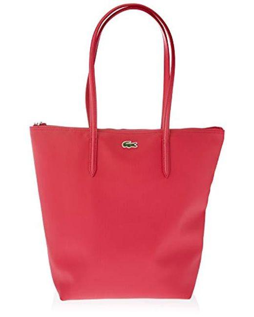 e5fda7c17ddce9 Lacoste - Pink Nf1890po Bag - Lyst ...