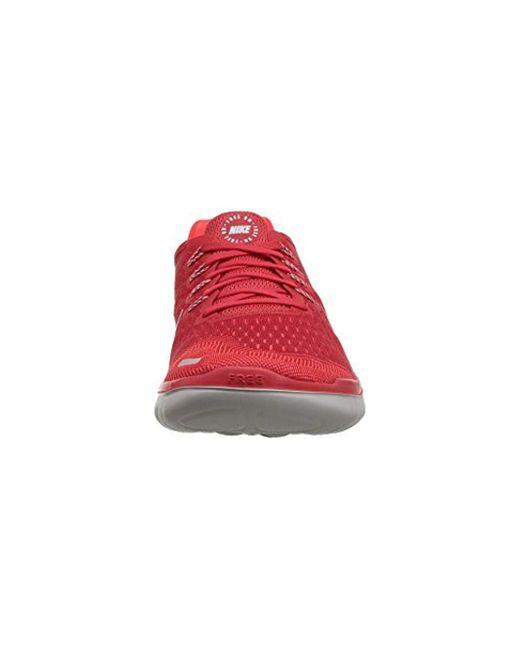 Nike Free Rn 2018 Blackvast Greywhitetotal Crimson M