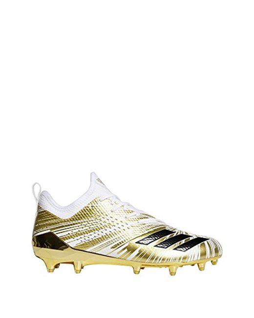 Adidas - Metallic Adizero 5-star 7.0 Football Shoe for Men - Lyst ... 7f958850ab7