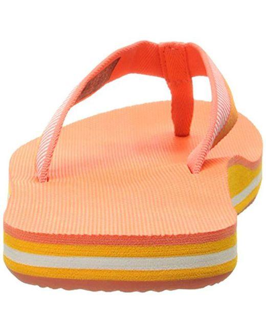 297b6cb9cf183 Lyst - Teva Deckers Flip-flop in Orange - Save 15%