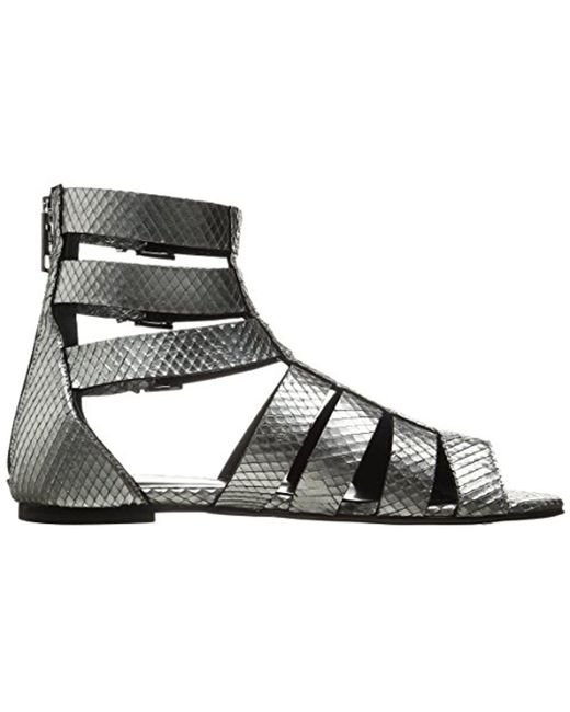 Python Leather Sandal Just Cavalli Iya7bJGzPc