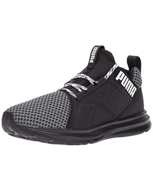PUMA - Black Enzo Terrain Sneaker for Men - Lyst