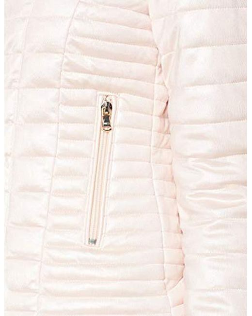 Guess Spolverino Vona Jacket Bomber in Pink Lyst