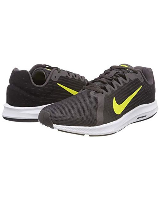 e59136a9fc51b ... Nike - Gray Downshifter 8 Running Shoes for Men - Lyst ...