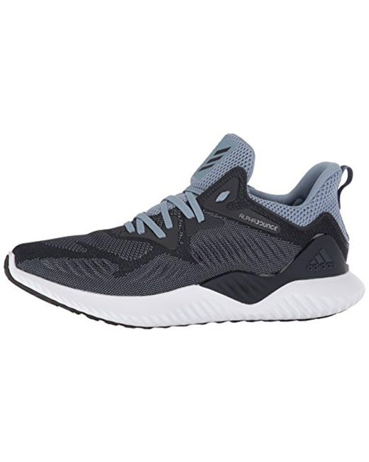 2cccf5ade ... Adidas - Gray Alphabounce Beyond M Running Shoe for Men - Lyst ...