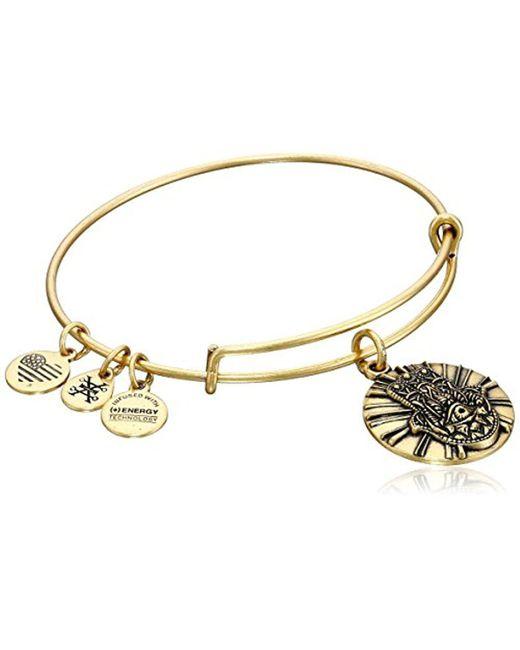 ALEX AND ANI - Metallic Hand Of Fatima Ii Expandable Rafaelian Bangle Bracelet - Lyst