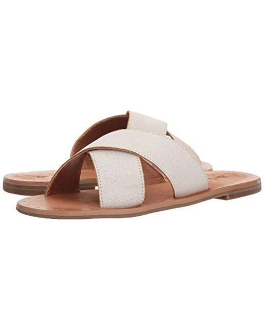 Frye Ally Criss Cross Sandals NmokdeGGLx