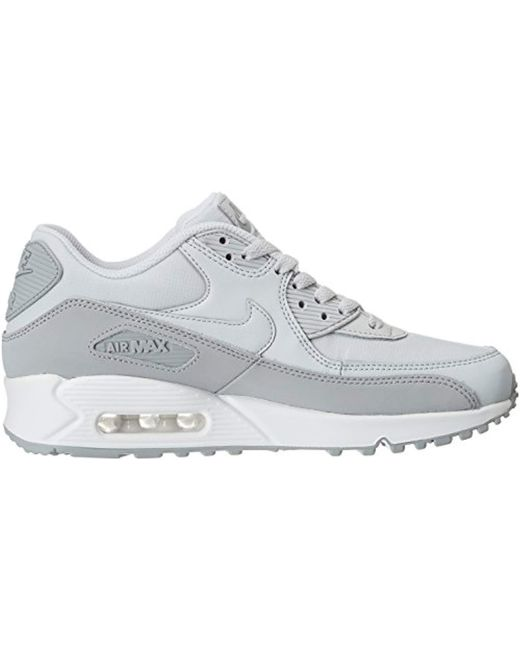 03ab236fb2 Nike Air Max 90 Essential Trainers in Gray for Men - Save 15% - Lyst