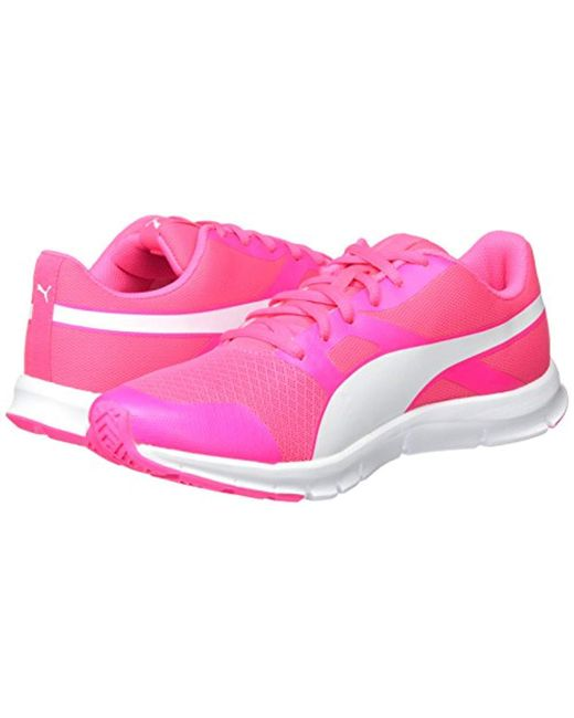 6e56aaf1b8b71d ... PUMA - Pink Unisex Adults Flexracer Low-top Sneakers - Lyst ...