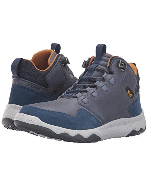 954106d7d ... Teva - Blue M Arrowood Lux Mid Wp High Rise Hiking Boots for Men - Lyst  ...