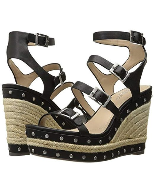 92154c671da Lyst - Charles David Larissa Wedge Sandal in Black - Save 59%