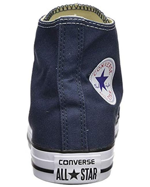 ac6f82b9e020 ... Converse - Blue Unisex-adult Chuck Taylor All Star Hi-top Trainers for  Men ...