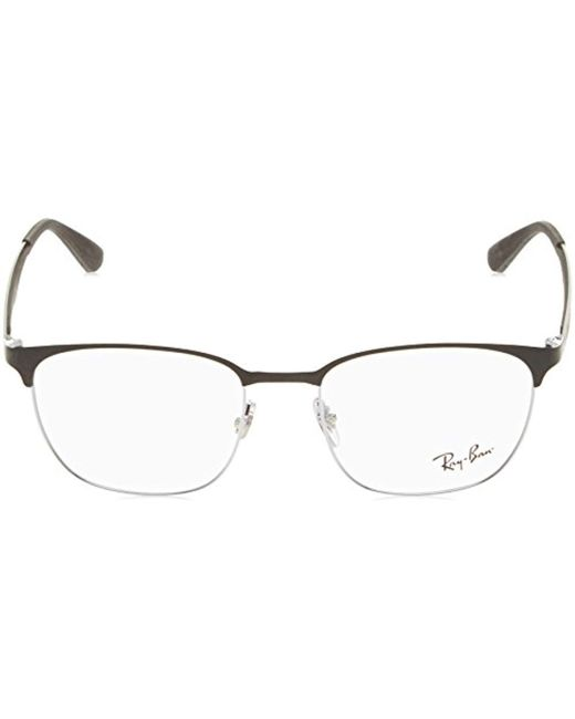 b6111103926 Ray-Ban Optical 0rx6356 Sunglasses For Unisex in Black - Save 3% - Lyst
