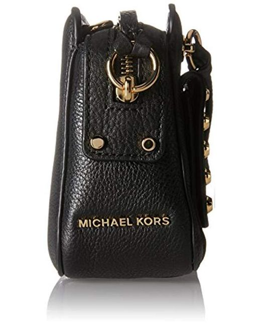 af9f686ffb892b ... Michael Kors - Black Mitchell Cross-body Bag - Lyst ...