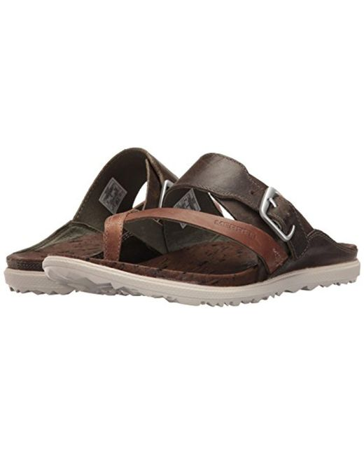 0b0eb42558f2 ... Merrell - Multicolor Around Town Thong Buckle Sandal - Lyst ...