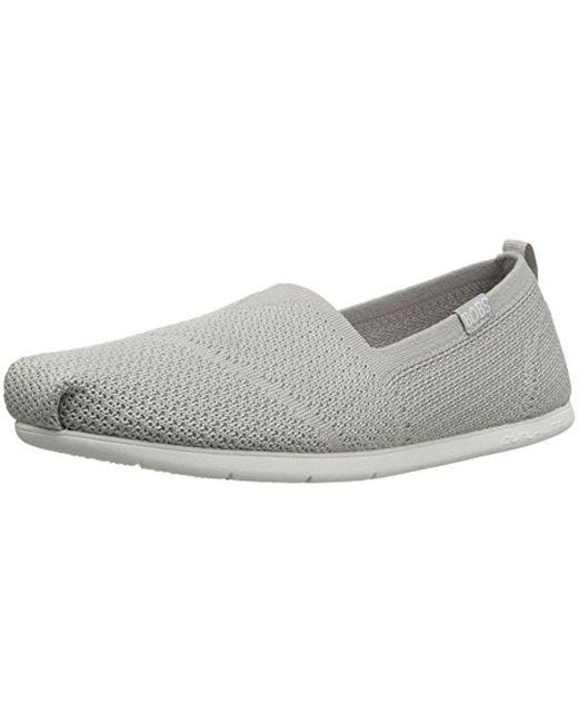 Skechers - Gray Bobs From Plush Lite Custom Built Flat - Lyst