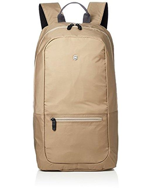 f9f0bb1e1ab0 Victorinox - Multicolor Packable Backpack Travel Backpack for Men - Lyst ...