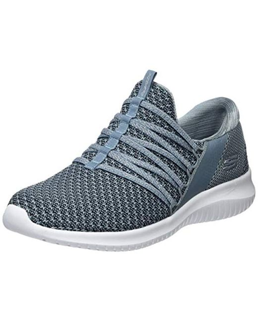 dd233ecad191 Skechers Ultra Flex-bright Future Trainers in Gray - Save 9% - Lyst