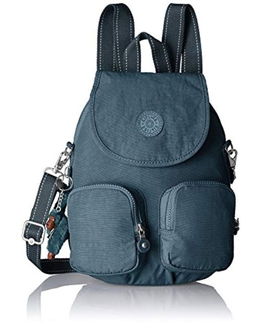 666685652a Kipling Firefly Up Backpack in Blue - Save 12% - Lyst