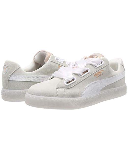 In Heart Puma Suede Top White Lyst Wn's Artica Low Sneakers qHgxq0r