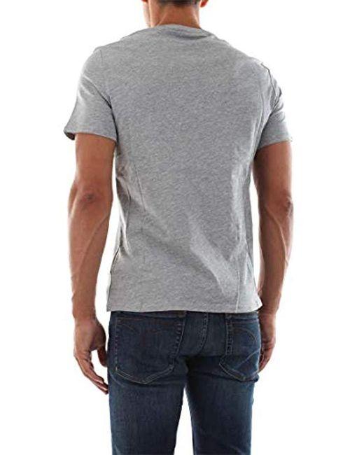 6653cd5de6 Guess Cn Ss Original Logo Core Tee T-shirt in Gray for Men - Lyst