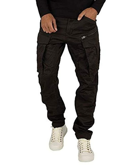 G-Star RAW Gray Rovic Zip 3d Tapered for men