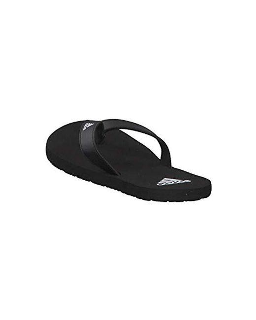 new arrival 2c4c3 74eaa ... Lyst Adidas - Black Eezay Flip Flop Beach  Pool Shoes for Men ...