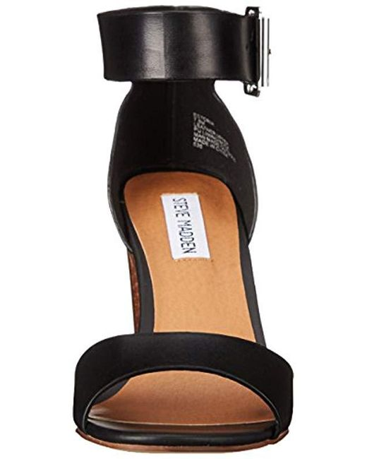 dfc7e883374 ... Steve Madden - Black Estoria Dress Sandal - Lyst ...