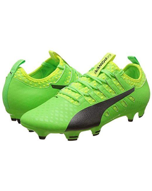 f9a6def799e PUMA Evopower Vigor 2 Fg Football Boots in Green for Men - Save 43 ...