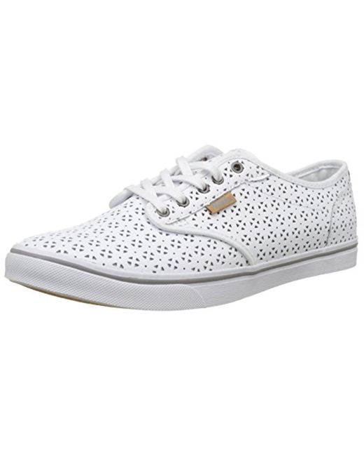 a98dcf2342a Vans - White Wm Atwood Dx Low-top Sneakers - Lyst ...