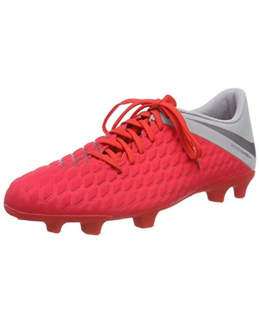 watch 3b852 5e0d9 ... firm ground soccer 98b96 7202f  spain nike red unisex adults hypervenom  3 club fg low top sneakers for men beb66 b1fe4