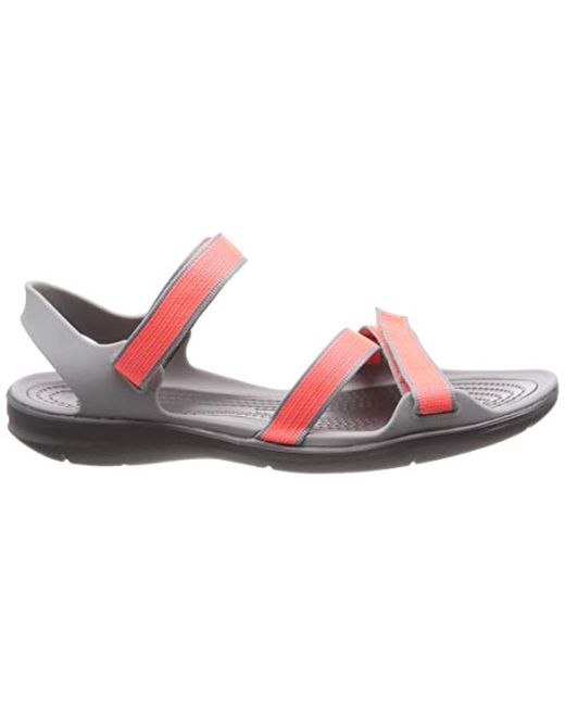 57d9113c5f61 ... Crocs™ - Multicolor Swiftwater Webbing Sandal W Open Toe - Lyst ...