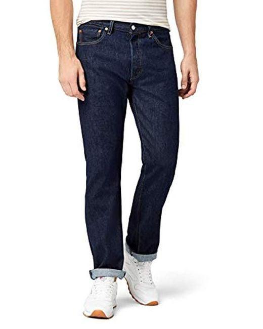 296bd090223 Levi's 501 Original Fit Jeans in Blue for Men - Save 37% - Lyst