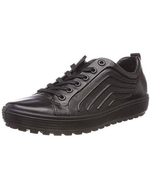dfc75b440dff Ecco - Black Soft 7 Tred L