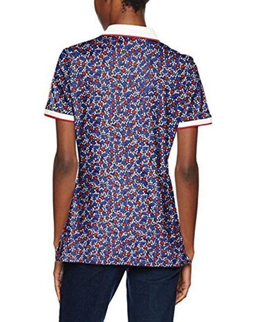 81a30cfee0ee ... Tommy Hilfiger - Multicolor Dinah Prt Ss Shirt - Lyst