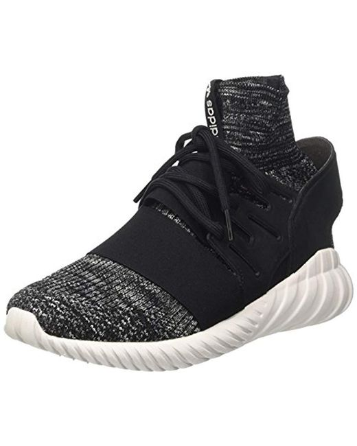 a74363a3b03a Adidas - Black Tubular Doom Primeknit Sneakers for Men - Lyst ...