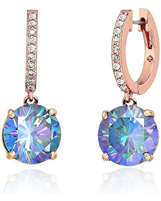 Kate Spade - Blue Bright Ideas Drop Earrings - Lyst