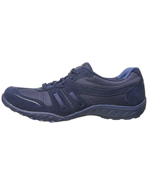 ... Skechers - Blue Sport Breathe Easy Jackpot Fashion Sneaker - Lyst ...