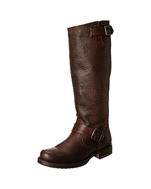 Frye - Brown Veronica Slouch Boot: Wide Calf - Lyst