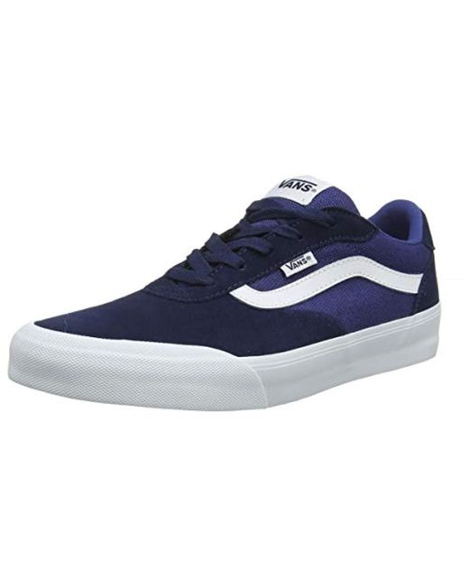 e00656137 Vans - Blue Palomar Trainers for Men - Lyst ...