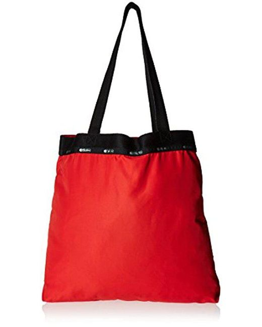 LeSportsac - Red Travel Simply Square Wallet - Lyst