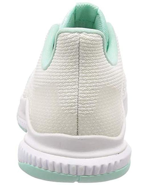 best cheap 42669 c4596 ... Adidas - White Crazyflight Bounce 2 Volleyball Shoes - Lyst ...