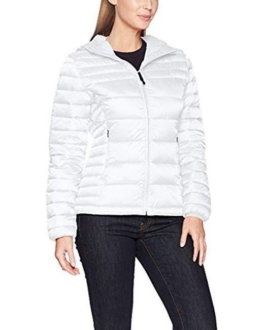 Napapijri - White Aerons Wom Hood Jacket - Lyst
