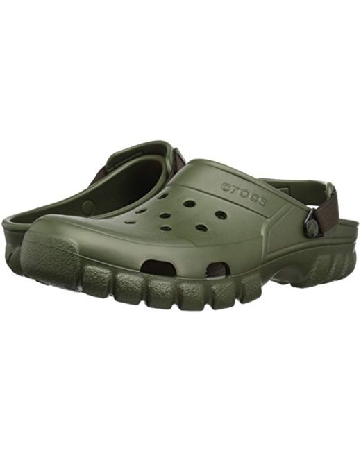 a54490263 ... Crocs™ - Green Unisex Adult Offroad Sport Clogs for Men - Lyst ...