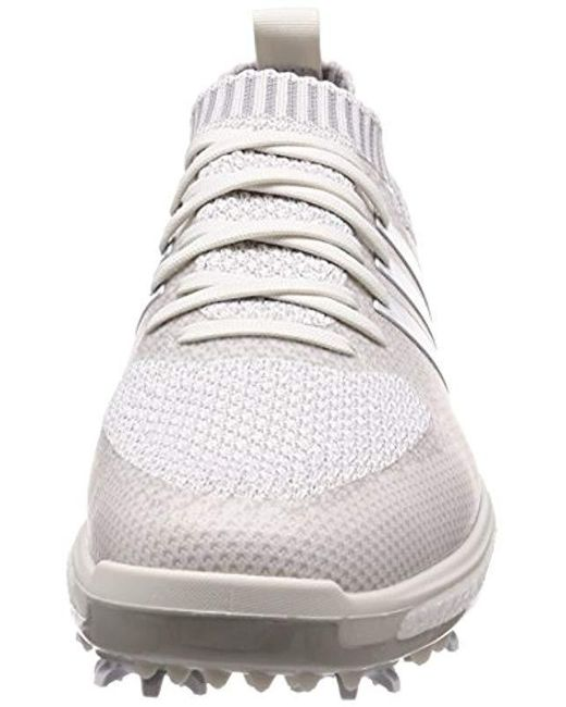 ... Adidas - White Tour 360 Knit Golf Shoes for Men - Lyst ... 218aa78d4