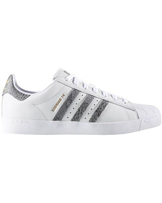Lyst adidas Originals gris Superstar Vulc ADV zapatos en gris Originals para hombres 80b1d4