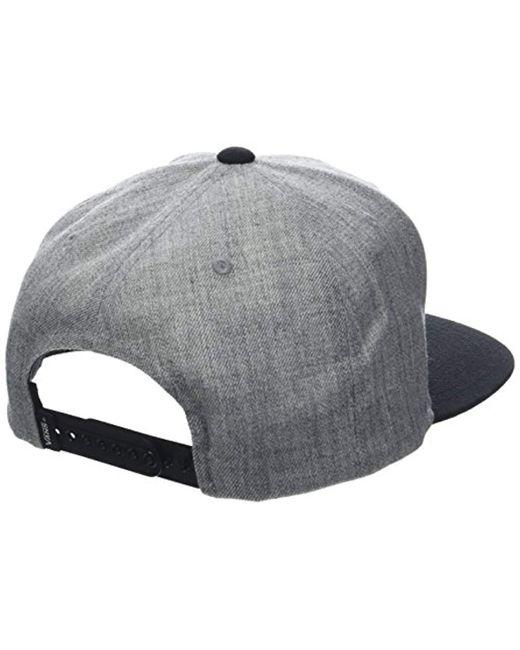 a8ca340c Vans Drop V Ii Snapback Cap in Gray for Men - Save 4% - Lyst